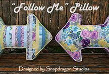 Free Pillow, Table Runner & Home Decor Patterns / Free Sewing Patterns - Pillows & Home Decor  Come FabShop Hop! Have fun, discover & tour shops, and win prizes!