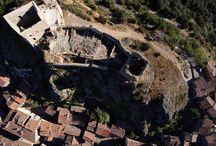 Maremma Tuscany Castles / Medieval castles in Maremma Tuscany Italy.
