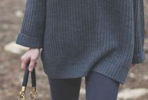 Fall/Winter Fashion / Outfit ideas and styling tips for fall and winter