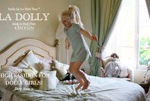 LA DOLLY - High Fashion for Dolly girls! Made in Italy by Le Petit Tom ® / LA DOLLY is a high-end Prêt-à-Porter fashion collection designed in The Netherlands & handmade in Italy. Materials like pure silk, Italian satin printed with drawings of famous items from the Dolly collection and beautiful real Chanel Tweeds coming from the Linton Tweeds®  Mills in the UK are used to create this fabulous, sophisticated and prestigious line for Dolly girls. Linton Tweeds ® is also the supplier of the house of Chanel which makes it extra special and exclusive.