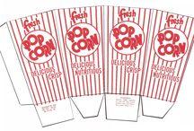 Box for popcorn... ai