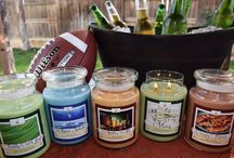 """Man Candles / Give that perfect guy one of our signature scents """"Just for Guys"""""""