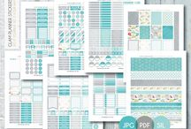 Katina - Planner Stickers