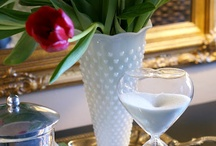 Milk Glass - I, too love milk glass and have a collection.