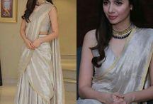 Saree dress