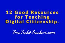 Digital Citizenship / Resources for teaching Digital Citizenship / by Janna Slye