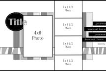 Fotoalbum layouts