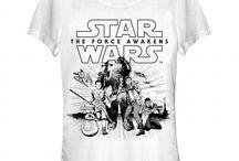 Star Wars The Force Awakens Shirts / Cool Shirts From Star Wars The Force Awakens / by Mark Francis