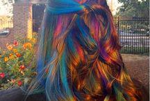 Bláznivé farby vlasov