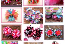 Bows, bows and more bows!! / by Emily Peterson