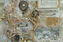wall hanging art textile