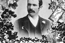 Historical memorial cards / A collection of historical memorial cards from around the world