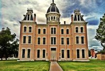 "Texas Golden Age Courthouses / Texas has 254 courthouses, many of them built during the ""golden age"" of the late Victorian era"