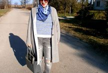 Winter outfit ideas / Casual winter outfit ideas with coats