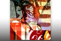 """American Artefacts"" Contemporary Painting"