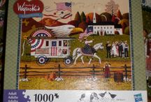 Games and Puzzles on eBay / Great games and jigsaw puzzles I have done and may be available for purchase in my eBay store today. I am a jigsaw puzzle fanatic and have put together thousands of puzzles so far and hoping to do thousands more.