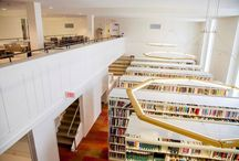 Moriarty Library at Lesley University College of Art and Design (LUCAD) / The new Moriarty Library located at Lesley Universities new College of Art and Design (LUCAD).
