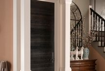 Make an Entrance / Entrances to spaces with Metrie mouldings and interior doors.