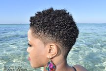 African short hairstyle