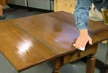 Restoring & Cleaning / How to restore, clean, and care for old furniture, old fabric, and old pieces.