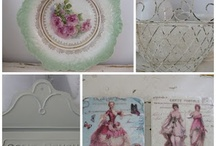 China & Dishes Shabby Chic style  / by Julie Owens
