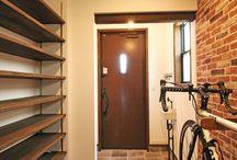 玄関・シューズクローク / 玄関・シューズクロークの建築・インテリア実例 by ジャストの家