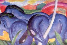 Der Blaue Reiter - Franz Marc