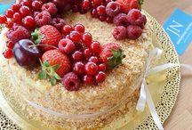 Торт «Home Napoleon» / LA MAISON by JN – авторские торты Юлии Николенко
