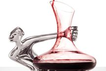 Goblet and wines