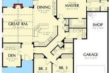Plan / Plan de maison
