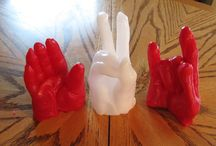Wax Hands / Paraffin wax craft for kids and adults alike.