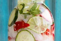Refreshing drinks for anytime..... / Staying hydrated is so very important to your well being! Here are some fun ideas to make you want to drink more!