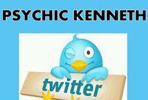 Psychic Healer Kenneth on Twitter