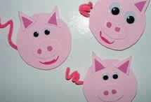 Kindergarten: Farm / Kindergarten farm activities and crafts
