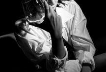 Vino y sombras / Fotografía: Roberto Maroto Modelo: Rosa Gregory