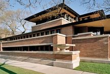 Frank Lloyd Wright / Frank Lloyd Wright architecture, design and sketches.