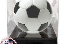 Soccer Ball Display Cases / Soccer Ball Display Cases