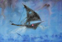 Marian Lupu LUPINO - VIRTUAL / Painting-oil on canvas-LUPINO-Email: mlupubm@yahoo.com