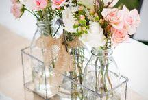 arranjos florais para batisados