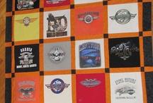 tshirt quilts and tshirt shtuff