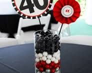 Men's 40th birthday ideas (not mine)