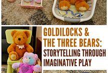 Gullhår og de 3 bjørnene