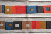 mid-century modern textile design