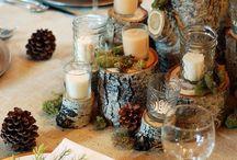 Rustic Winter Wedding - Rustikt Vinterbröllop
