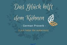 Inspirational Quotes / Stay motivated with inspiring sayings in different languages!