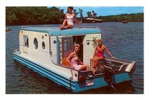 HouseBoat ideas and tiny homes / Starting to gather ideas for the perfect mini houseboat.   / by Lyz Rothman