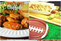 Tailgating Recipes / The perfect recipes for tailgating or watching the big football game.