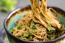 Quinoa, noodles, rice