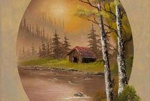 Ovális képek /Oval paintings