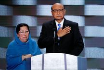 Trump Attacks Muslim Father's Viral DNC Speech, Questions If Wife Was 'Allowed' to Speak